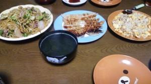 15日夕飯
