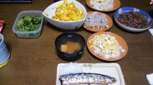 18日夕飯
