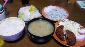 25日夕飯