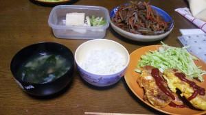 16日夕飯