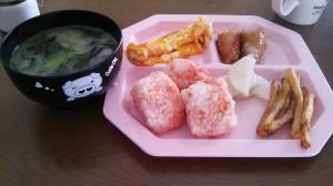 4日お昼ごはん