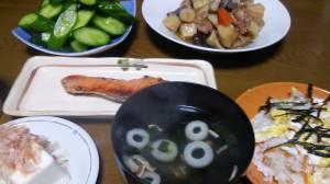 17日夕飯