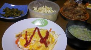 23日夕飯