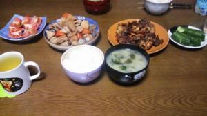 14日夕飯