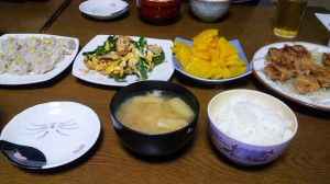 26日夕飯