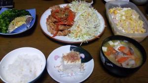 27日夕飯