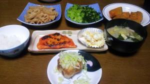 28日夕飯