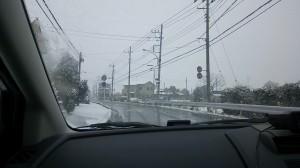 ちょこっと雪