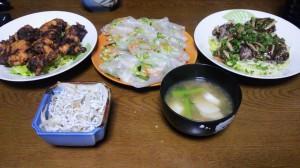 22日夕飯