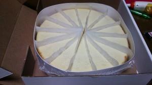 ニューヨークチーズケーキ