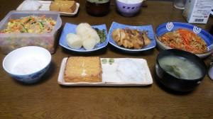 21日夕飯