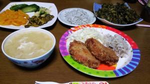 12日夜ご飯