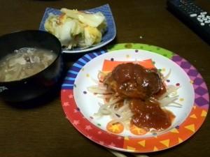 5日夜ご飯