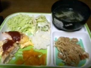 1日夜ご飯